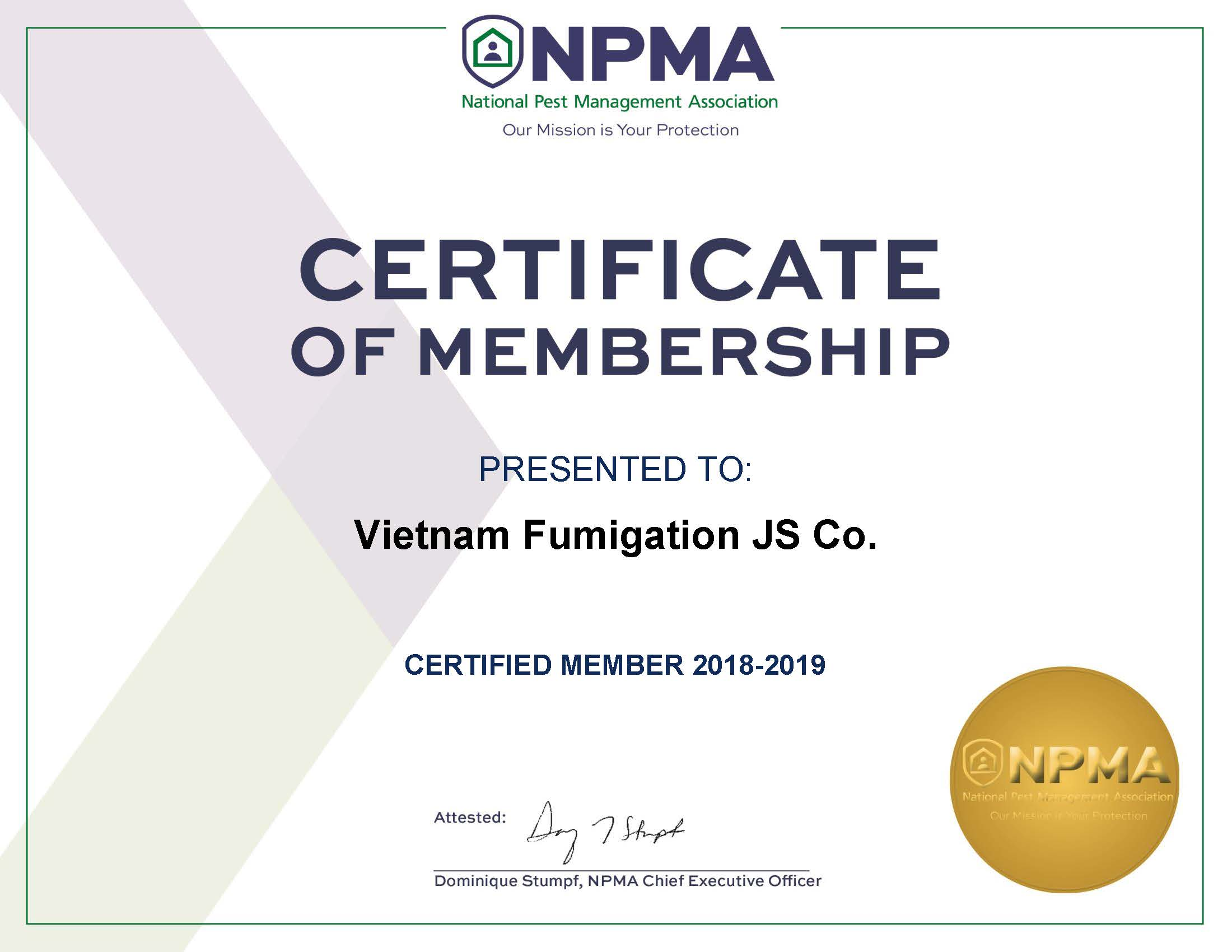 NPMA-2019