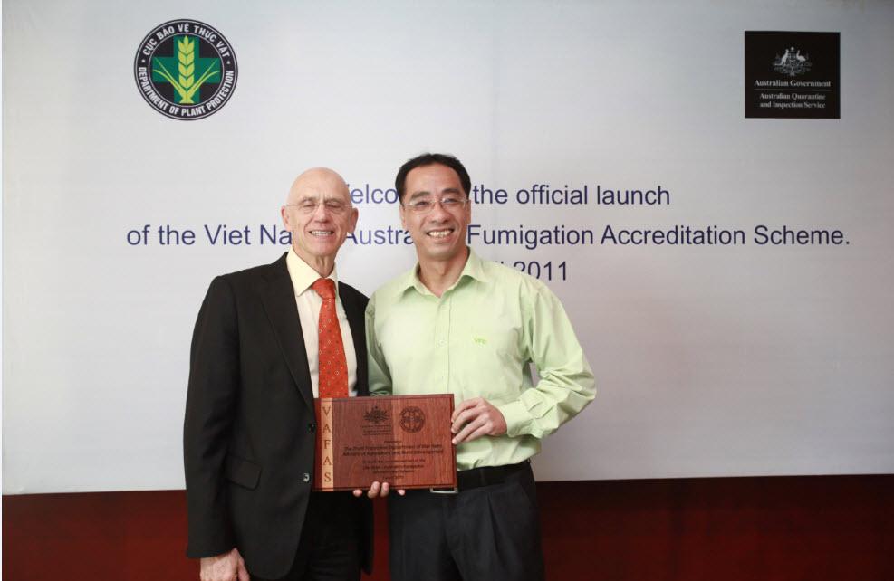 Lễ công bố chính thức chương trình Khử trùng ủy nhiệm của Úc tại Việt Nam