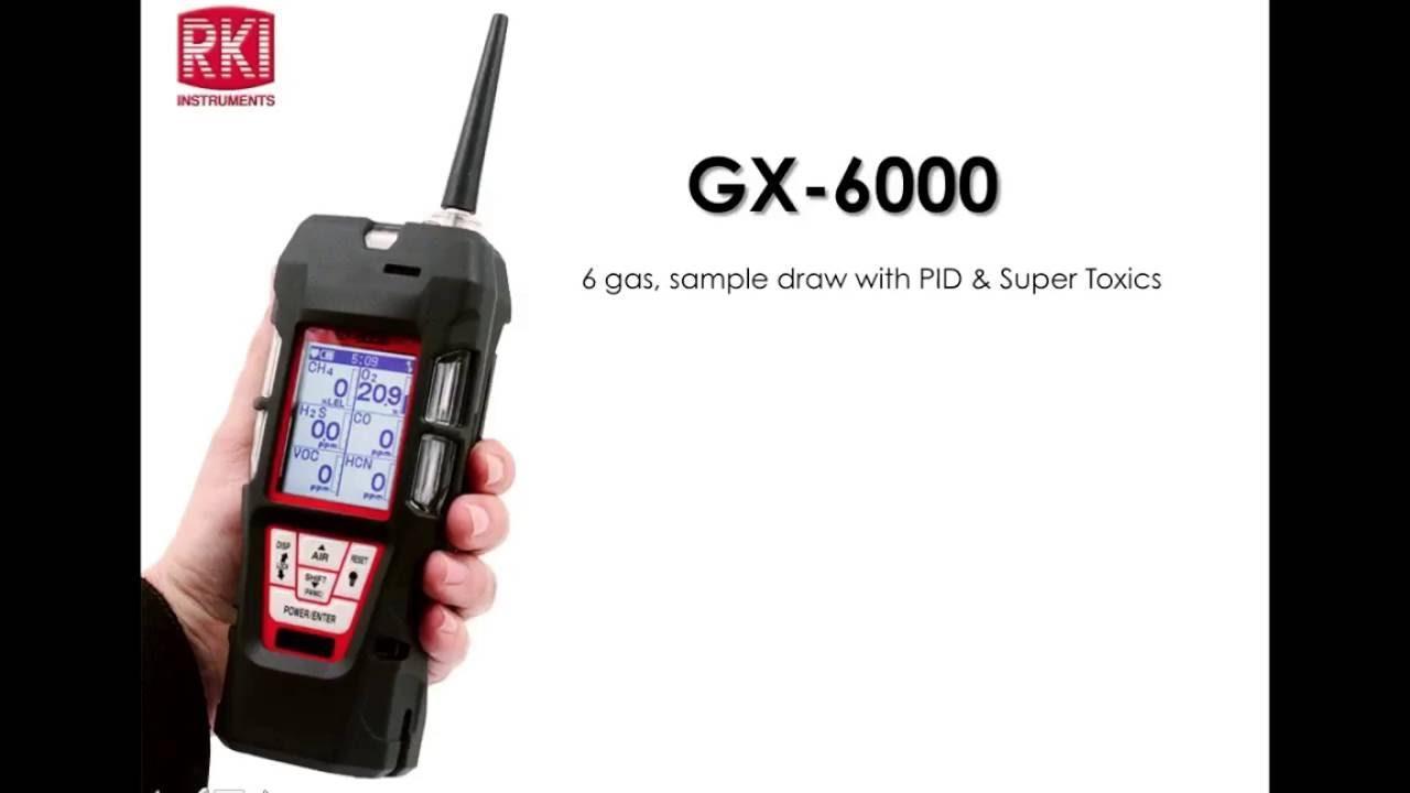 <p>Riken keiki GX6000</p>