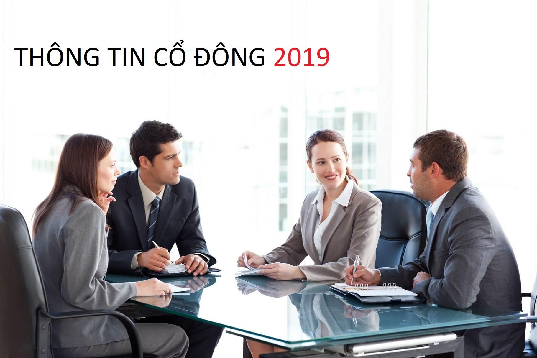 Thông Tin Cổ Đông năm  2019
