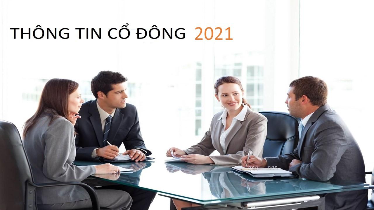 Thông tin cổ đông 2021