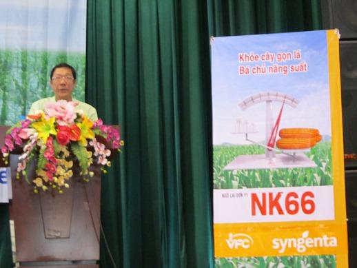 Ngày Hội Thu Hoạch Giống Ngô Lai NK66, NK6326 - Vụ Xuân 2012